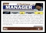 2004 Topps Traded #68 T Al Pedrique  Back Thumbnail