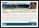 2004 Topps Traded #120 T  -  Franklyn Gracesqui First Year Back Thumbnail