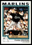 2004 Topps Traded #120 T  -  Franklyn Gracesqui First Year Front Thumbnail