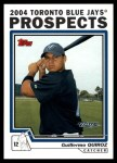 2004 Topps Traded #102 T Guillermo Quiroz  Front Thumbnail