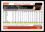 2004 Topps Traded #27 T Michael Tucker  Back Thumbnail