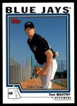 2004 Topps Traded #141 T  -  Tom Mastny First Year Front Thumbnail