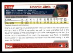 2004 Topps Traded #156 T  -  Charlie Zink First Year Back Thumbnail