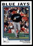 2004 Topps Traded #193 T  -  Jason Frasor First Year Front Thumbnail