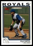 2004 Topps Traded #203 T  -  Chad Santos First Year Front Thumbnail