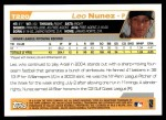 2004 Topps Traded #220 T  -  Leo Nunez First Year Back Thumbnail