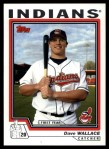 2004 Topps Traded #199 T  -  David Wallace First Year Front Thumbnail