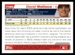 2004 Topps Traded #199 T  -  David Wallace First Year Back Thumbnail