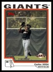 2004 Topps Traded #190 T  -  Carlos Sosa First Year Front Thumbnail