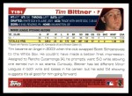 2004 Topps Traded #191 T  -  Tim Bittner First Year Back Thumbnail
