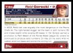 2004 Topps Traded #194 T  -  Reid Gorecki First Year Back Thumbnail