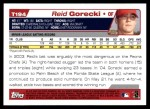 2004 Topps Traded #194 T  -  Reid Gorecki First Year Back Thumbnail