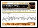2004 Topps Traded #196 T  -  Javier Guzman First Year Back Thumbnail