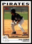2004 Topps Traded #196 T  -  Javier Guzman First Year Front Thumbnail