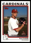 2004 Topps Traded #181 T  -  Benji DeQuin First Year Front Thumbnail