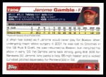 2004 Topps Traded #206 T  -  Jerome Gamble First Year Back Thumbnail