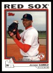 2004 Topps Traded #206 T  -  Jerome Gamble First Year Front Thumbnail
