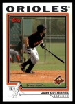 2004 Topps Traded #183 T  -  Juan Gutierrez First Year Front Thumbnail