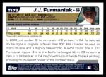 2004 Topps Traded #178 T  -  J.J. Furmaniak First Year Back Thumbnail