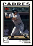 2004 Topps Traded #178 T  -  J.J. Furmaniak First Year Front Thumbnail