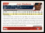 2004 Topps Traded #175 T  -  Juan Cedeno First Year Back Thumbnail