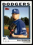 2004 Topps Traded #204 T  -  Brian Pilkington First Year Front Thumbnail