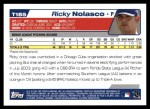 2004 Topps Traded #185 T  -  Ricky Nolasco First Year Back Thumbnail