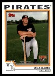2004 Topps Traded #207 T  -  Brad Eldred First Year Front Thumbnail