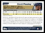2004 Topps Traded #208 T  -  David Pauley First Year Back Thumbnail