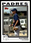 2004 Topps Traded #208 T  -  David Pauley First Year Front Thumbnail