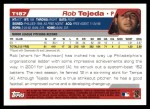 2004 Topps Traded #187 T  -  Rob Tejeda First Year Back Thumbnail