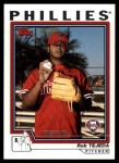 2004 Topps Traded #187 T  -  Rob Tejeda First Year Front Thumbnail