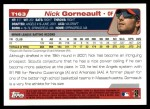 2004 Topps Traded #163 T  -  Nick Gorneault First Year Back Thumbnail