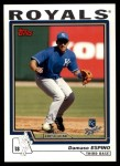 2004 Topps Traded #210 T  -  Damaso Espino First Year Front Thumbnail