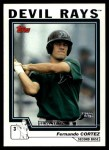 2004 Topps Traded #216 T  -  Fernando Cortez First Year Front Thumbnail