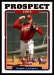2005 Topps Update #90  Chris Lambert  Front Thumbnail