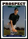 2005 Topps Update #96  James Houser  Front Thumbnail