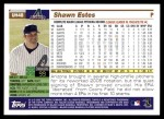 2005 Topps Update #48  Shawn Estes  Back Thumbnail