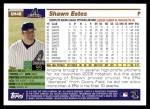 2005 Topps Update #48  Shawn Estes  Back Thumbnail