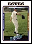 2005 Topps Update #48  Shawn Estes  Front Thumbnail
