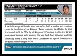2005 Topps Update #108  Taylor Tankersley  Back Thumbnail
