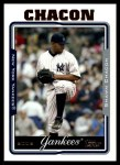 2005 Topps Update #41  Shawn Chacon  Front Thumbnail