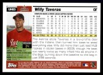 2005 Topps Update #83  Willy Taveras  Back Thumbnail