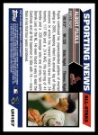 2005 Topps Update #157   -  Albert Pujols All-Star Back Thumbnail