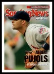 2005 Topps Update #157   -  Albert Pujols All-Star Front Thumbnail