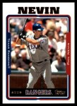 2005 Topps Update #61  Phil Nevin  Front Thumbnail