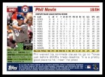 2005 Topps Update #61  Phil Nevin  Back Thumbnail