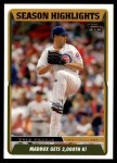 2005 Topps Update #112   -  Greg Maddux  Highlights Front Thumbnail