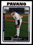 2005 Topps Update #70  Carl Pavano  Front Thumbnail