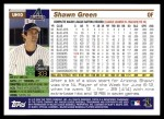2005 Topps Update #10  Shawn Green  Back Thumbnail